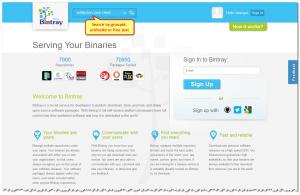 Search Bintray