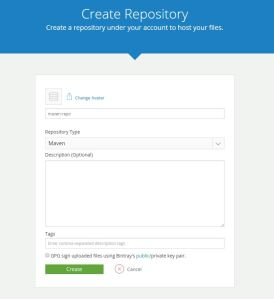 Create New Maven Repository
